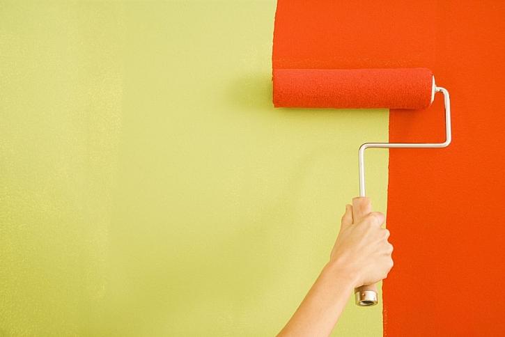 Omyvatelnou barvu snadno opravíte nebo přemalujeme