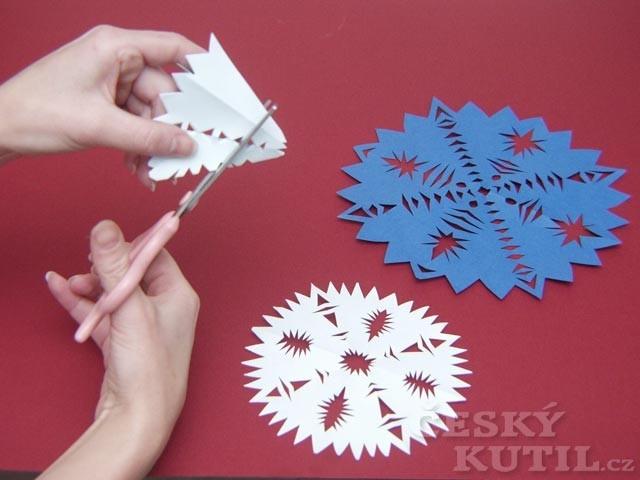Sladký ježek a prostřihované tvary - hvězdičky pro děti
