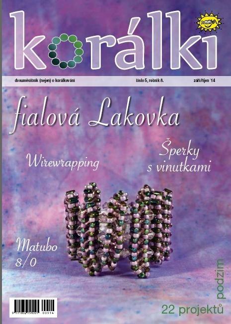 Korálki 5/2014 – Houby, houbičky aneb fialová Lakovka