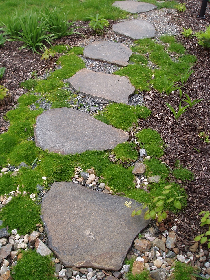 Kámen zahradě sluší