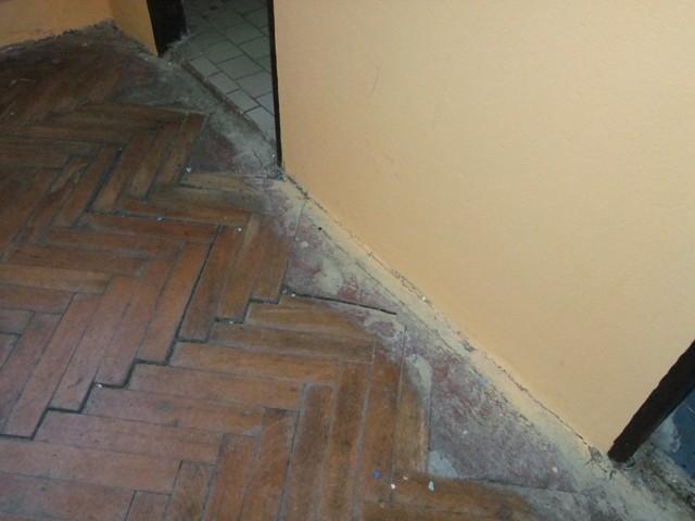 Antikutil - betonové parkety
