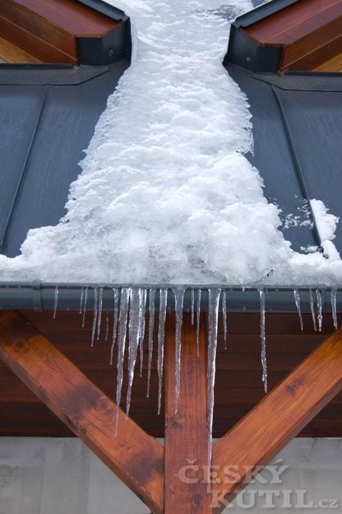 Odborníci vám radí: okapy v zimě