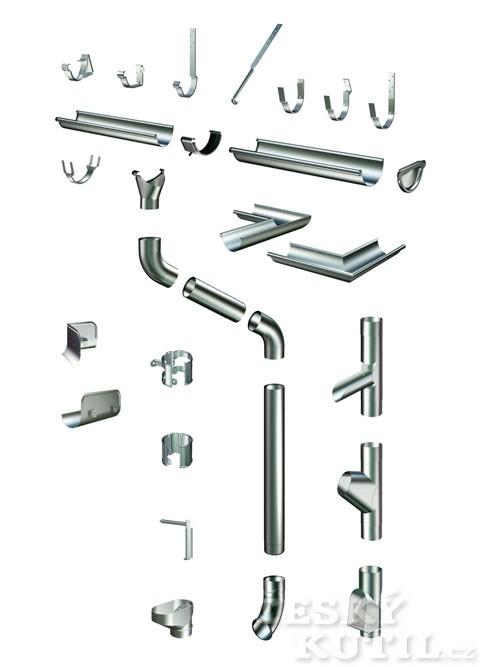Okapové systémy, 2. díl - Dimenzování a prvky systému