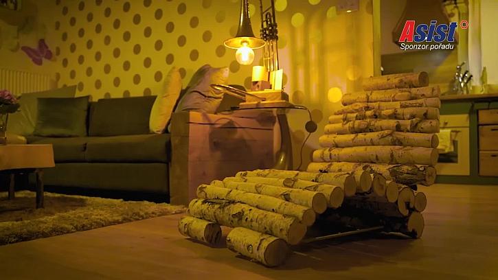 Hotová lenoška v bytě
