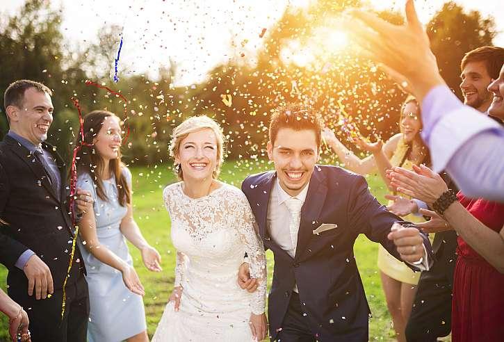Svatební den by měl být dnem nezměrné radosti (Zdroj: Depositphotos)