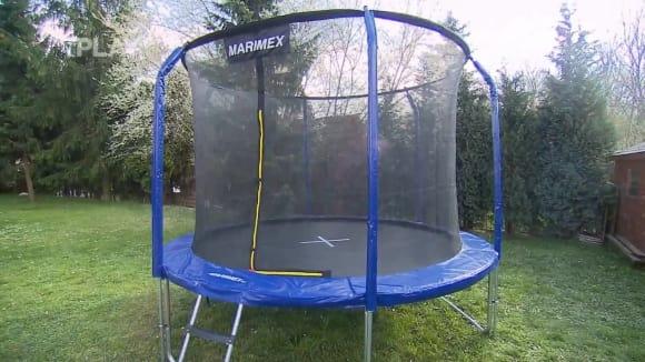 Bezpečnost na zahradní trampolíně