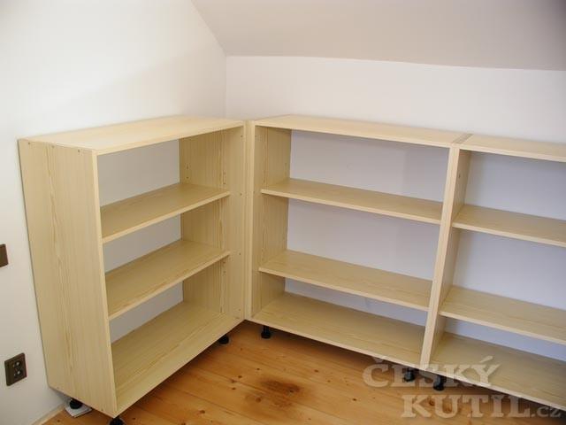 Jak vyrobit knihovnu? - 2. díl.