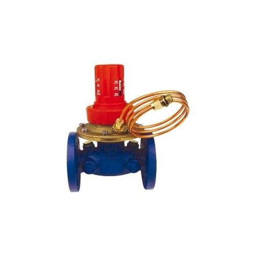 HERZ Regulátor tlakové diference 4007 F, DN 50 přírubový, plynulé nastavení 1400716