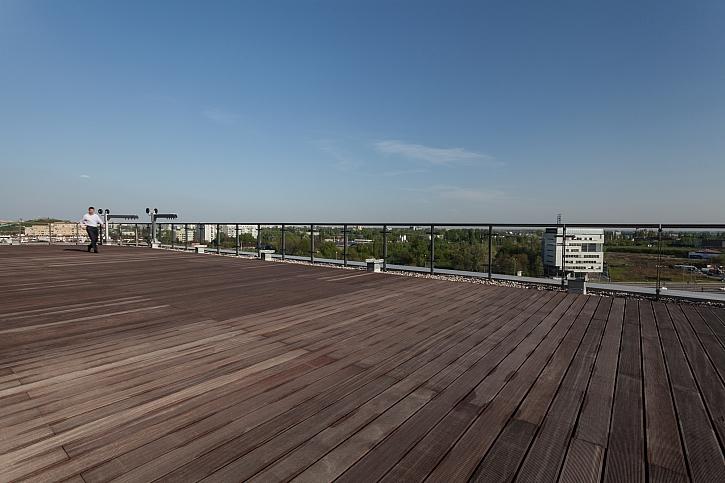 Terasa na střeše