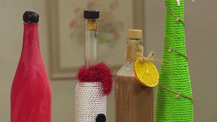 Domácí čokoládový likér v originální láhvi bude i pěkným dárkem