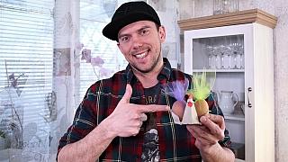 Vtipná velikonoční dekorace: Stojánky na vejce zpapírových plat