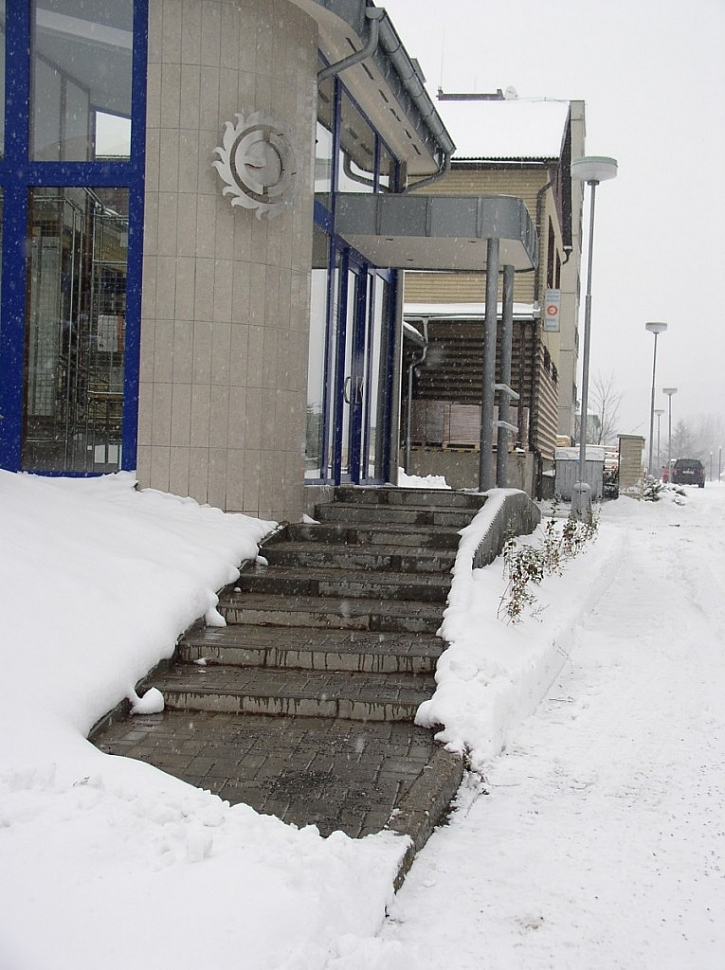 Ochrana proti sněhu a námraze - zapnuto