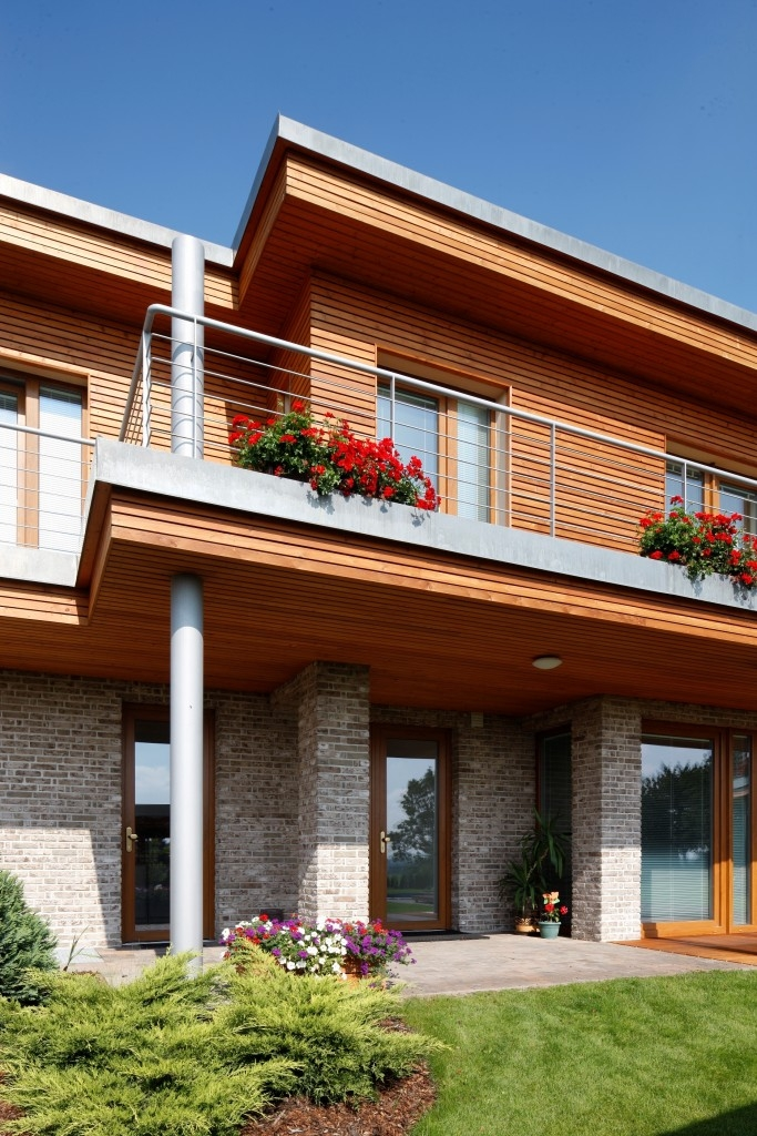Dřevěná fasáda – rošt, úprava a montáž
