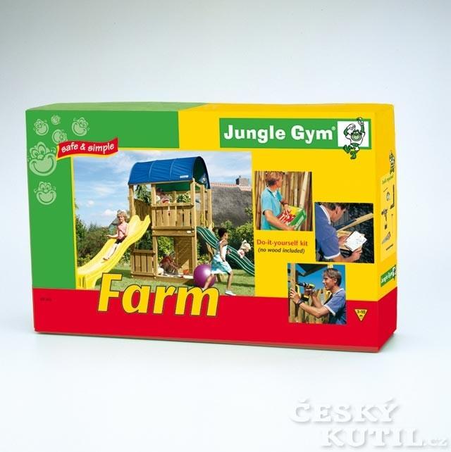Montáž hřiště Jungle Gym je rodinná zábava
