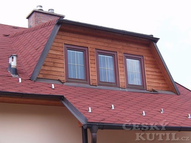 Střechy a střešní krytiny – 2. díl: asfaltový šindel