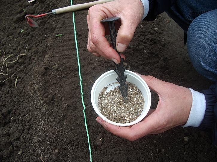 Míchání semen