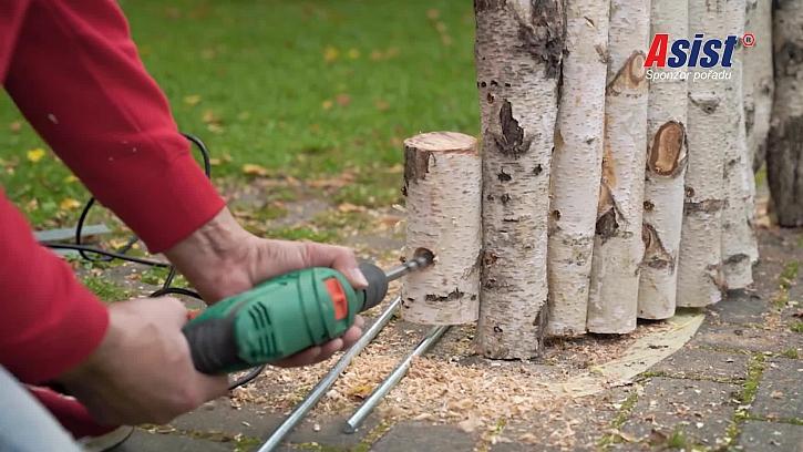 Vrtání otvoru do dřeva