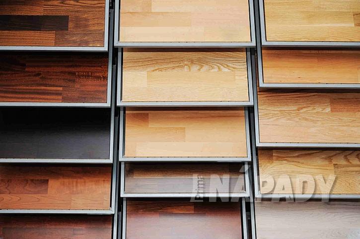 Různé dekory a barvy dřevěné podlahy