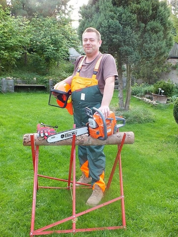 Na přípravu dřeva bezpečně