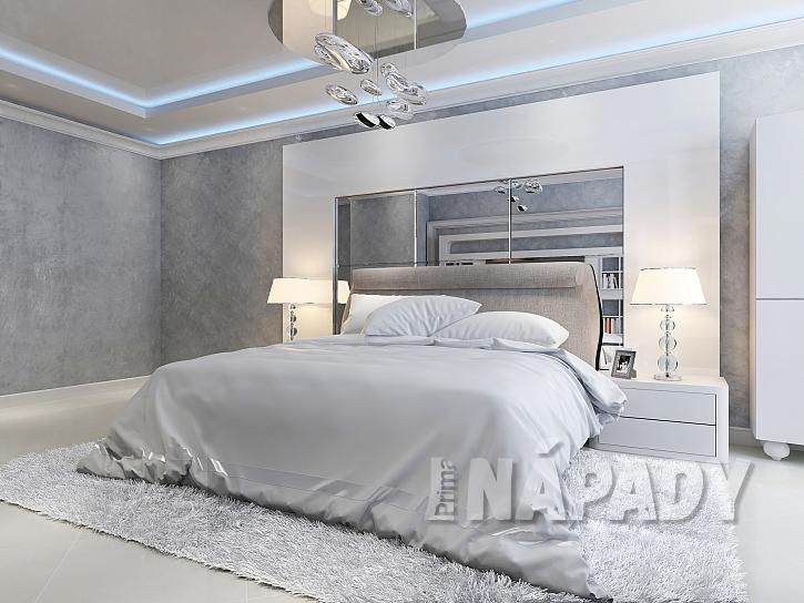 Ložnice s manželskou postelí-1