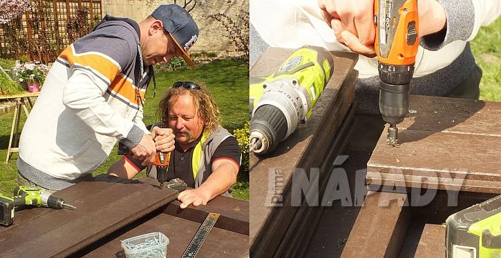 S materiálem Traplast pracujete stejně, jako se dřevem. Jen nemusíte dbát na následnou údržbu