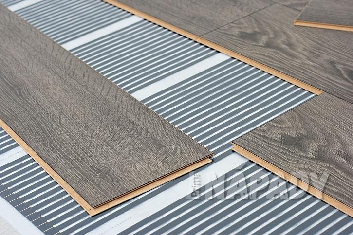 Podlahové topení pod laminátovou podlahou