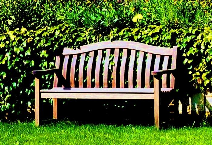 Ošetření lavice z exotického dřeva