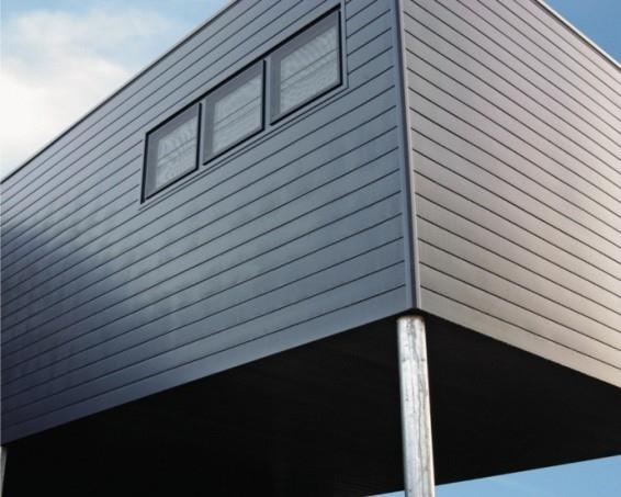 Nové venkovní obklady Standard pro krásný vzhled a lepší izolační vlastnosti budov