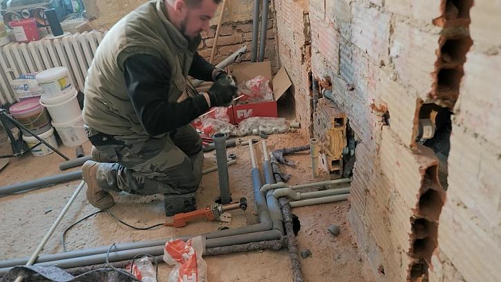 17. díl Online stavebního deníku bude řešit vodovodní potrubí