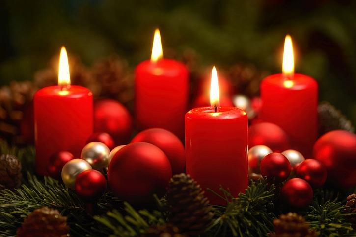 4. adventní neděle je nazývána zlatou a je vyvrcholením celého adventu (Zdroj: Depositphotos)