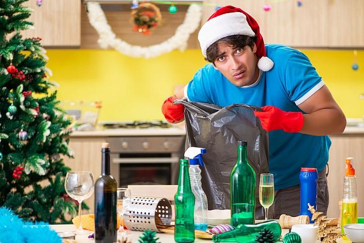 Povánoční úklid někdy znamená celkově vygruntovat byt (Zdroj: Depositphotos)
