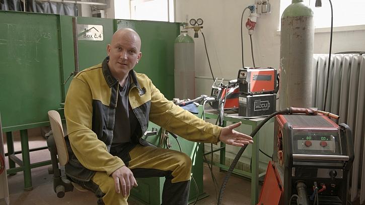 Miroslav Petržela - svářeč