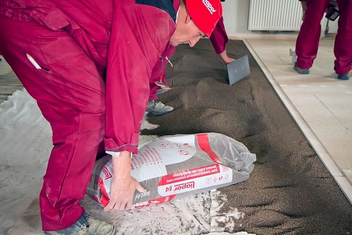 Suchá podlaha s podsypem Liapor je nejrychlejší řešení.