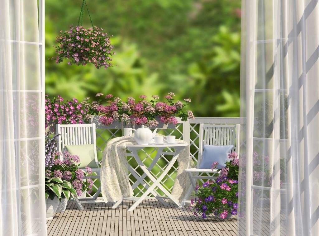 I v paneláku si můžete na balkoně vytvořit příjemné posezení