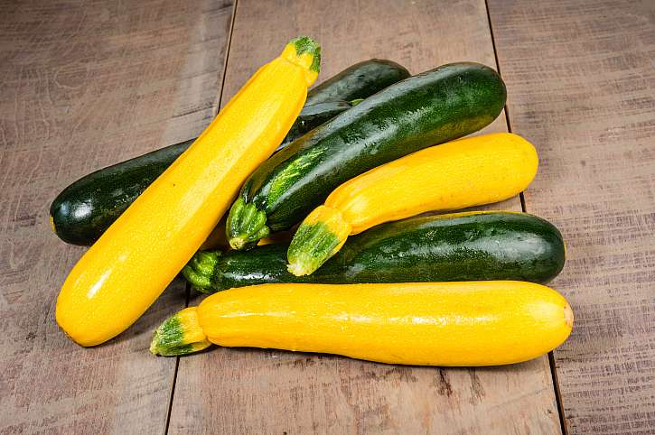 Cukety zelené a žluté