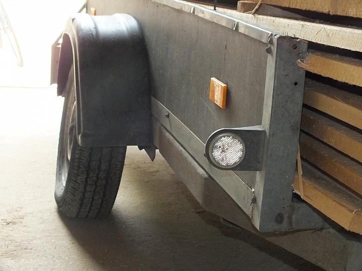 Antikutil - přívěsný vozík není náklaďák