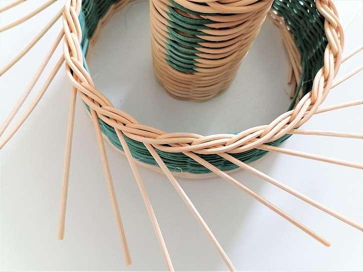 Pletení tříparové závěrky