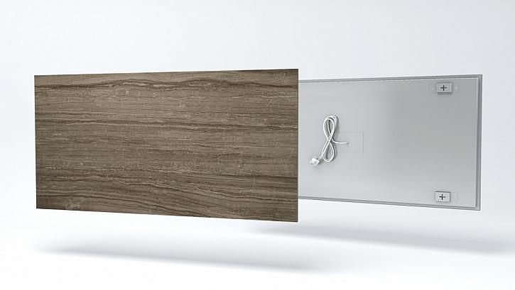 Moderní skleněné a keramické sálavé panely Fenix