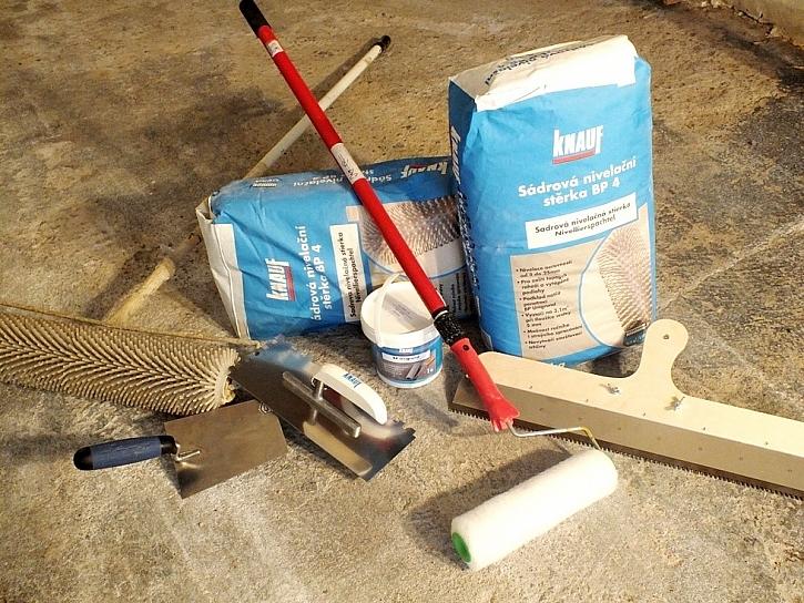 Knauf stěrka BP 4 – Dobře rovná podlaha
