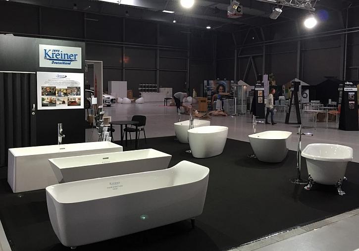 Společnost KREINER představuje na veletrhu For HABITAT volně stojící vany z vlastní produkce