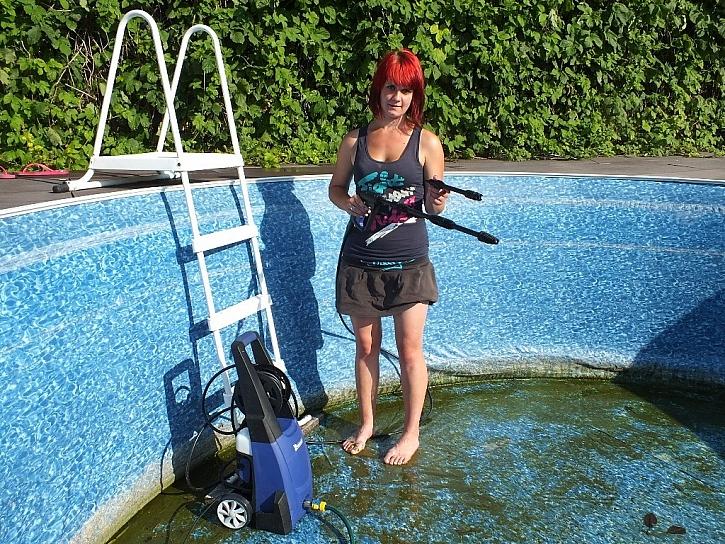 Bazény a měkké materiály