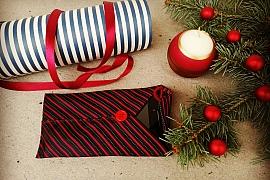 Vánoční dárek pro tatínka či dědečka: Pouzdro na mobil z odložené kravaty