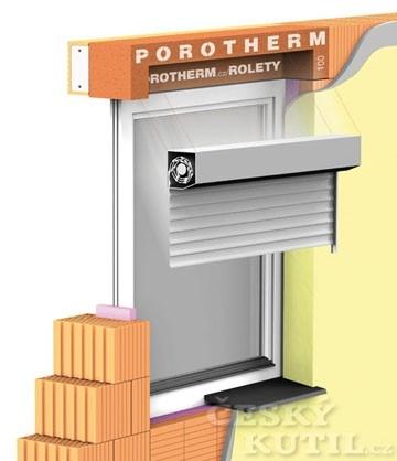 Nadokenní překlad POROTHERM VARIO – volba zastínění i úspora energie