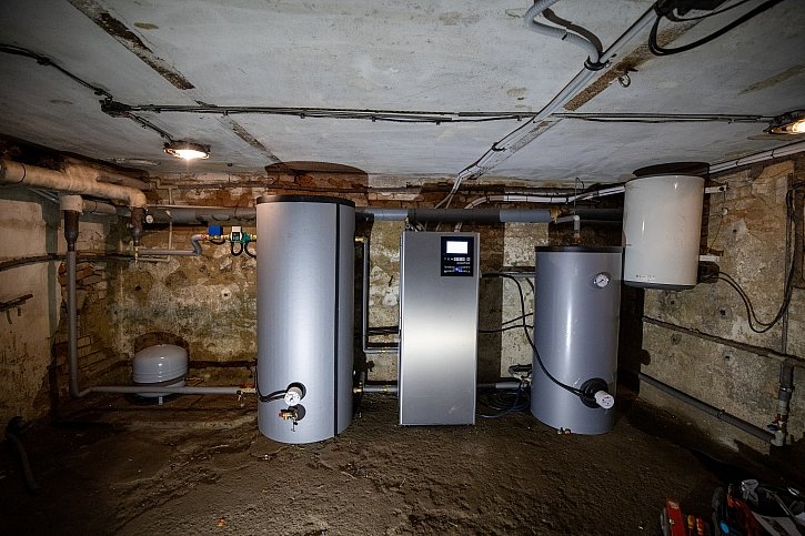 Spojení fotovoltaiky s tepelným čerpadlem