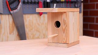 Vyrobte ptáčkům zpěváčkům důstojné bydlení v podobě jednoduché ptačí budky