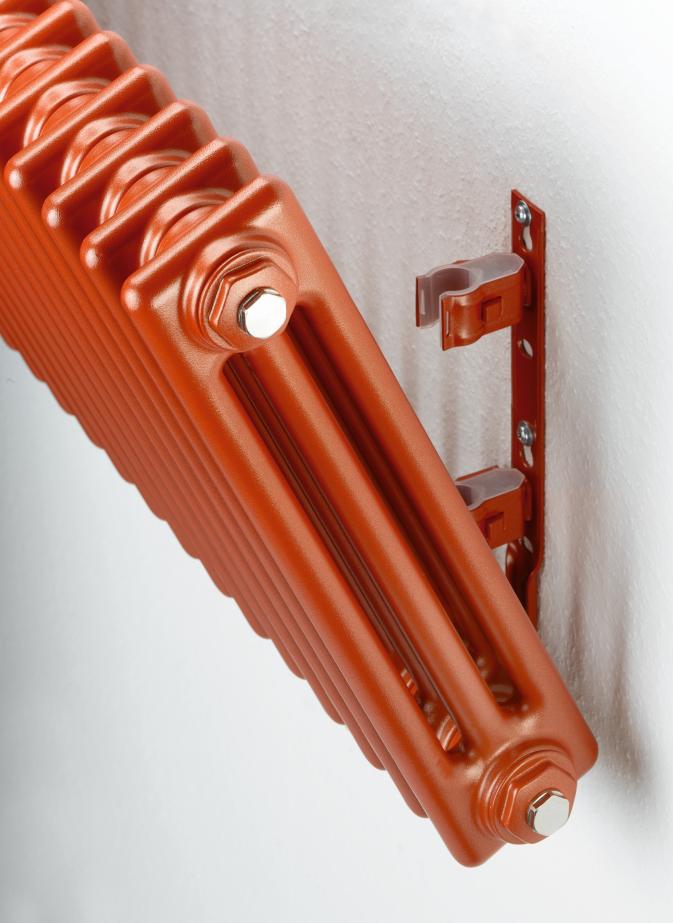 Červený radiátor