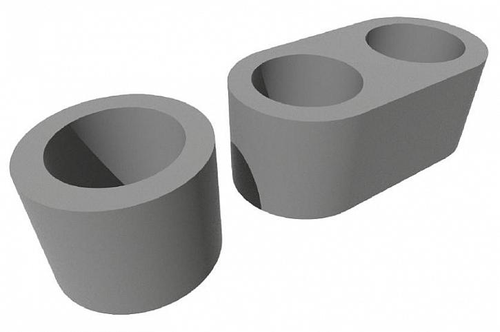 Designové tvarovky RONDE BLOCK