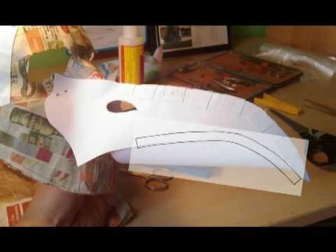 Výroba masky morového doktora
