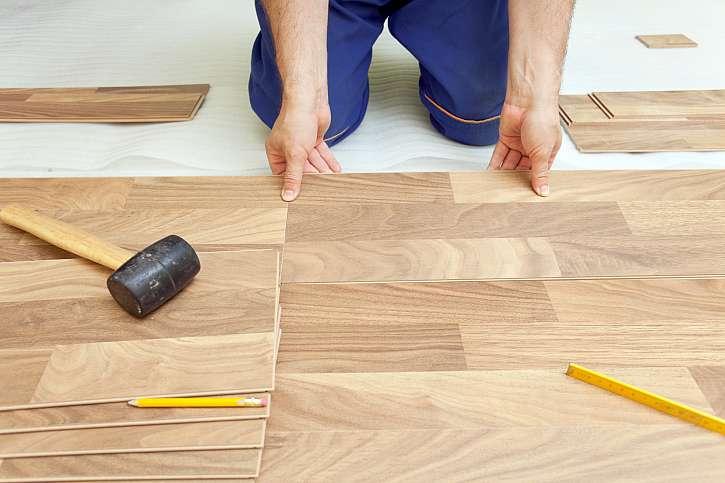 Položení laminátové podlahy
