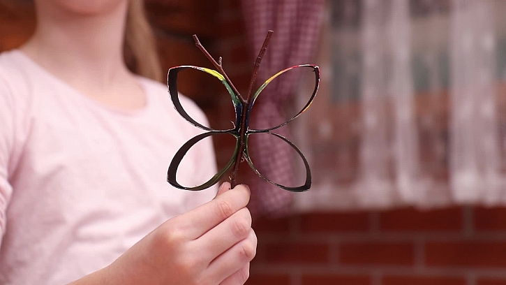 Výroba jednoduchého motýlka